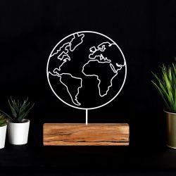 Dekoratives Objekt Welt | Weiß