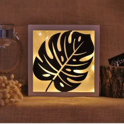 Decorative Led Lighted Accessory | Monstera