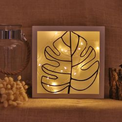 Decorative Led Lighted Accessory | Thin Leaf