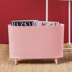 Zeitschriftenstapel Milano | Queen Pink