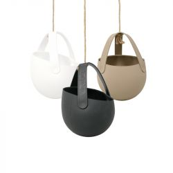 Set of 3 Hanging Planters Sling | Mixed Colours