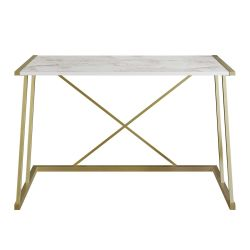Study Desk Anemon | White / Gold