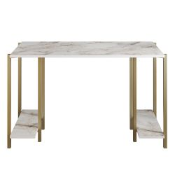 Study Desk Reader | Gold / White