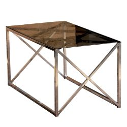 Table Basse Iliomar | Chromé