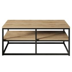 Coffee Table Forteaus | Walnut / Black