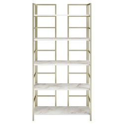 Bookshelf Tinleys | Gold / White