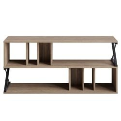 Tv Stand Termas | Walnut / Black