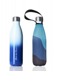 Trinkflasche & Deckel 750 ml Future | Gradient Blue & Big Blue
