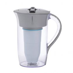 8-Cup Round Pitcher 1,9 L | Grey & Clear