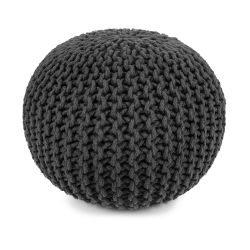 Round Pouf | Dark Grey
