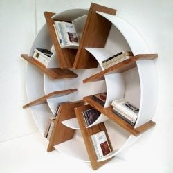 Giotto Bookcase Teak