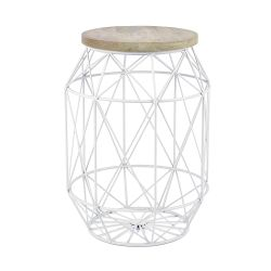 Table d'Appoint Dome | Blanc