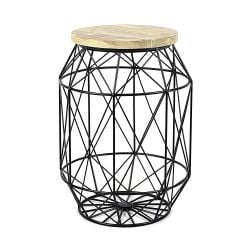 Table d'Appoint Dome | Noir