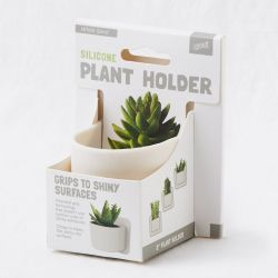 Silicone Plant Holder | White Sand