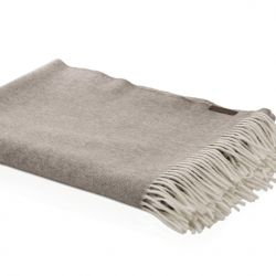 Throw Cashmere  | Brown