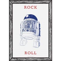 Rock Roll Art Print