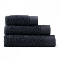 Set de 3 Serviettes | Noir