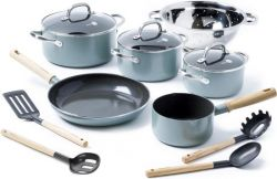 Ceramic Non-stick Cooking Set Mayflower | Set of 10