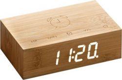 Kipp-Klick-Uhr | Bambus