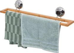 Handtuchhalter mit Saugnapf | Bambus