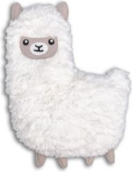 Microwave Proof Pillow Huggable Llama | White