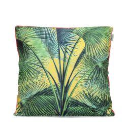 Kissenbezug Palmenblätter | 100% Baumwolle