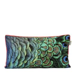 Cushion Cover Peacock | 100% Cotton