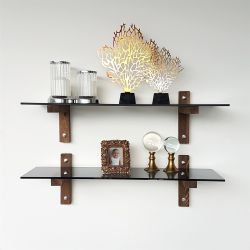 Wall Shelf R 202 | Walnut