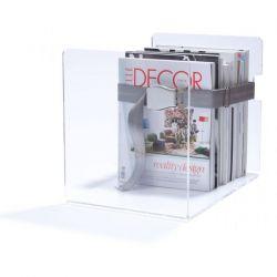 Bendix Magazine Rack | Light Grey
