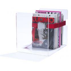 Bendix Magazine Rack | Red
