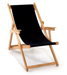 Beach Chair | Black
