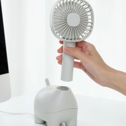 Mini Fan Pet | Grey