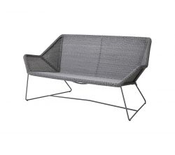 Outdoor 2 seater Sofa Breeze | Light Grey