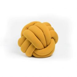 Decorative Cushion Knot | Mustard Yellow