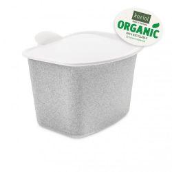 Abfallbehälter Bibo | Organisch Grau
