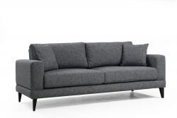 3 Seater Sofa Nordic | Dark Grey
