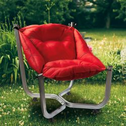 Outdoor Wing Chair | Red