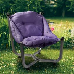 Outdoor Wing Chair | Purple
