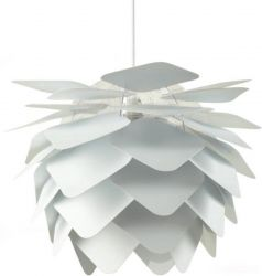 Pendant Lamp Ilumin 45 cm | Round Square | White