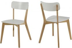 Dining Chair Raven | White | Set of 2