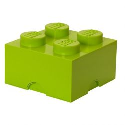 Storage Brick 4 Large | Lime Green
