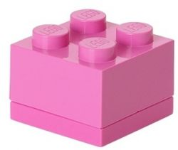 Storage Brick 4 Mini | Pastel Pink
