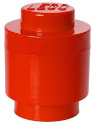 Storage Brick 1 Round | Red
