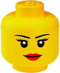 Opbergdoos Legohoofd Meisje