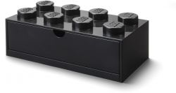 Iconic Storage Brick / Drawer 8 | Black