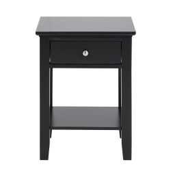 Bedside Table Linnea | Black
