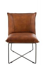 Lounge Chair Avi l Cognac