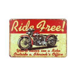 Wall Decoration | Ride Free