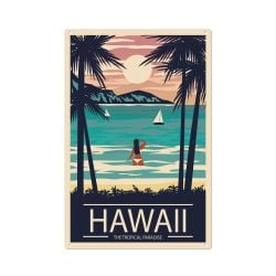 Wandschmuck | Hawaii