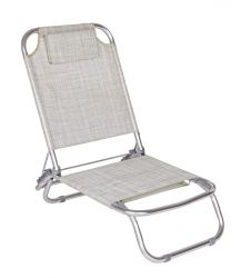 Outdoor Deckchair Ocean | Grey